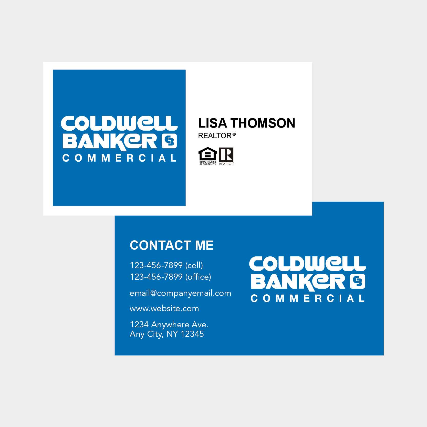 Coldwell Banker Business Cards Intended For Coldwell Banker Business Card Template