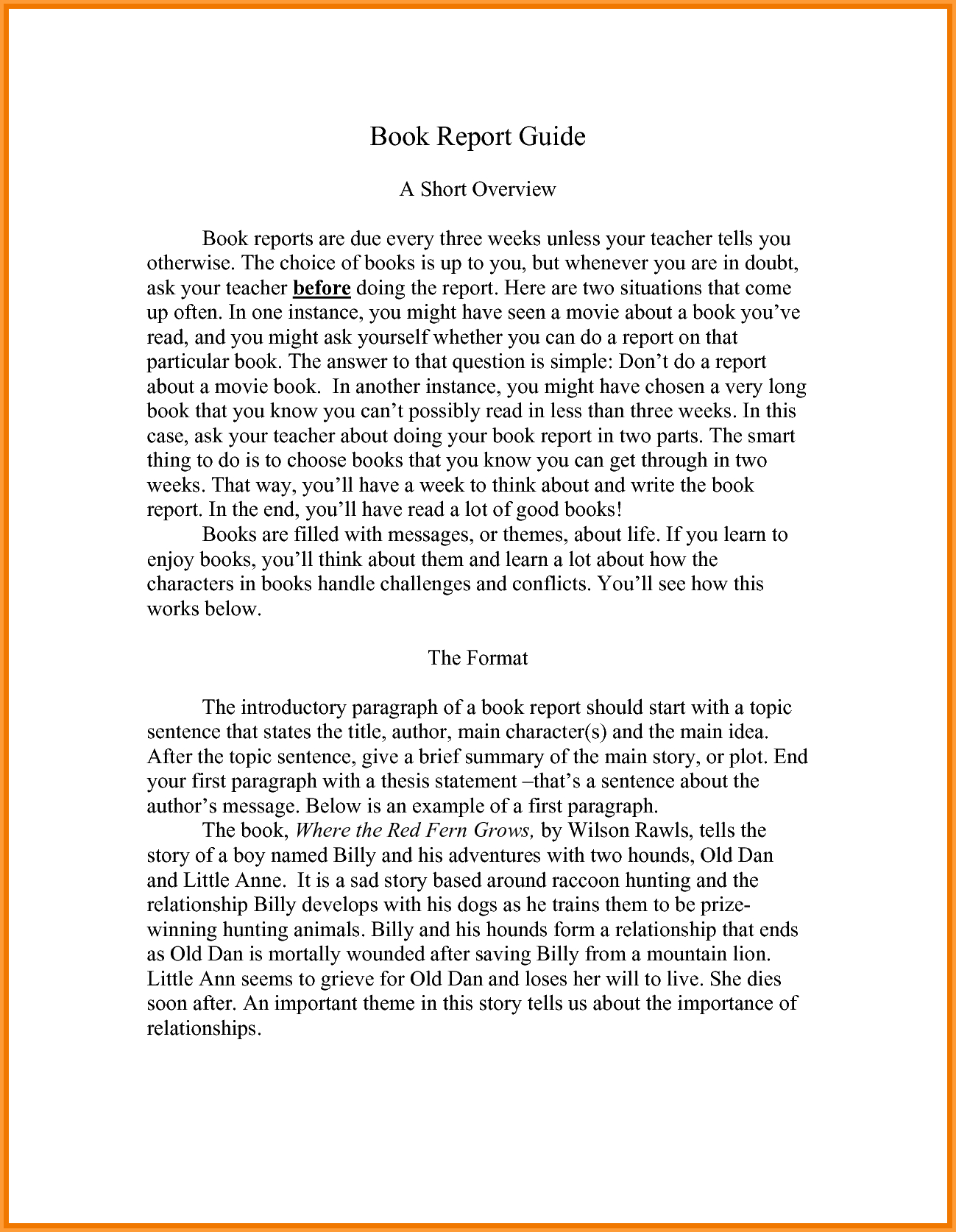 College Book Reports - Colona.rsd7 With College Book Report Template