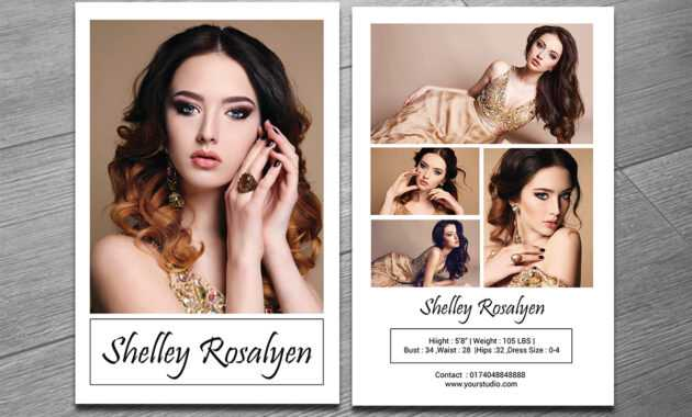 Comp Card Size - Colona.rsd7 throughout Free Zed Card Template