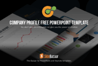Company Profile Powerpoint Template Free – Slidebazaar with Free Business Profile Template Download