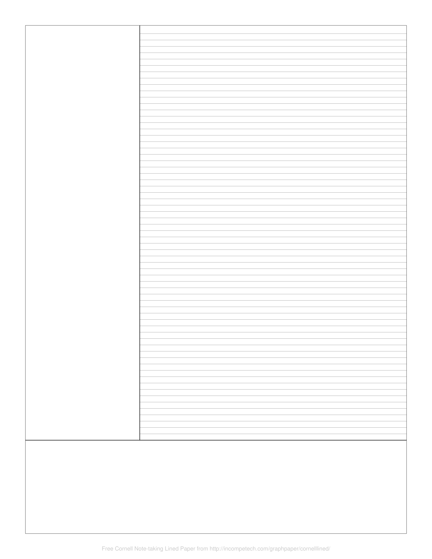 Cornell Notes Paper - Colona.rsd7 Inside Cornell Notes Template Google Docs