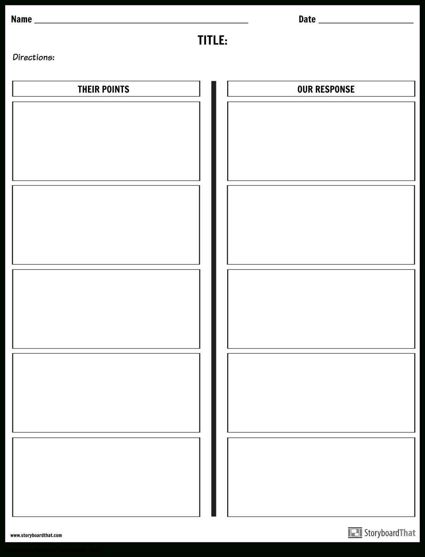 Create A Debate Worksheet | Class Debate Prep Within Debate Notes Template