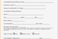 Credit Card Authorization Form Template 41 Jet Airways Uk with regard to Credit Card Authorization Form Template Word