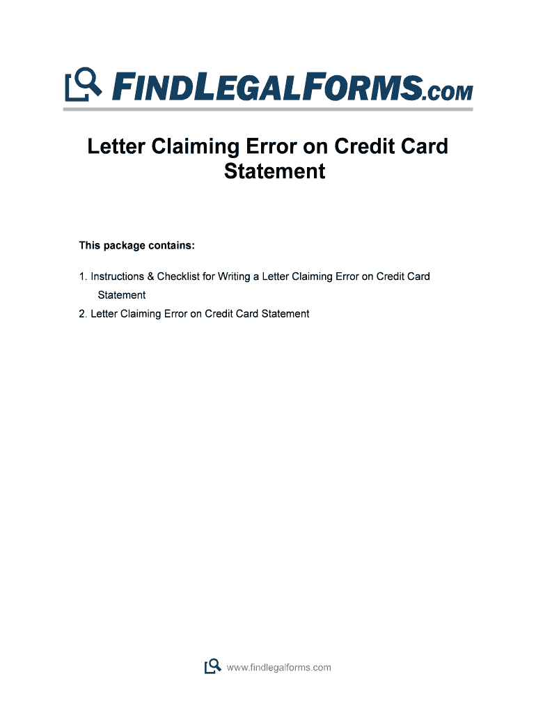 Credit Card Statement Template – Fill Online, Printable Regarding Credit Card Statement Template