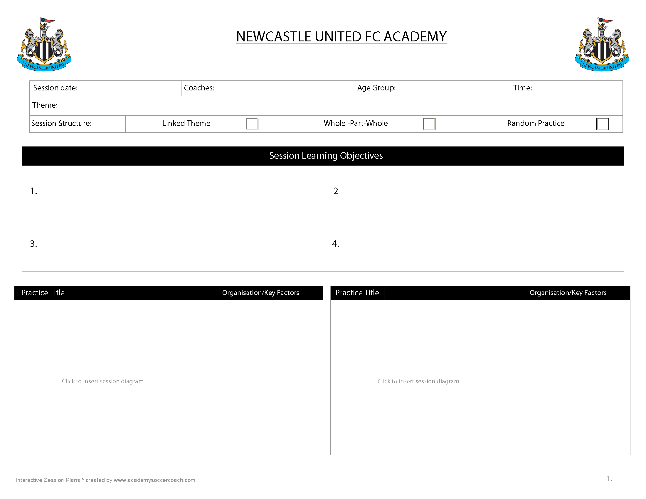 Customisation Services – Academy Soccer Coach | Asc For Coaches Report Template