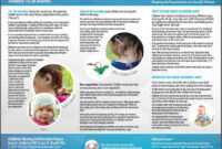Daycare Brochures Success For Kids Hearing Loss Strategies in Daycare Brochure Template
