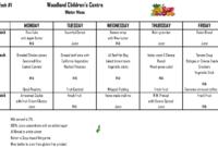 Daycare Menus – Colona.rsd7 with regard to Daycare Menu Template