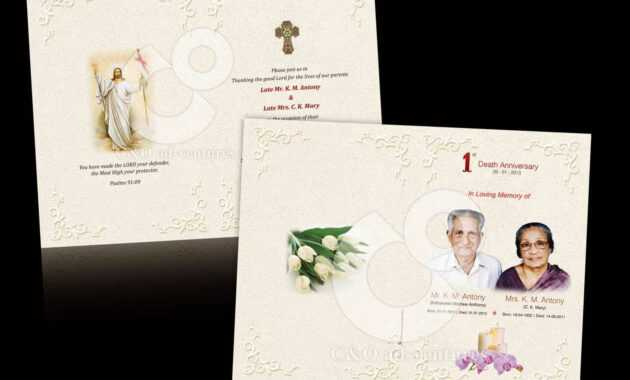 Death Anniversary Cards Templates ] - Card Templates Free for Death Anniversary Cards Templates
