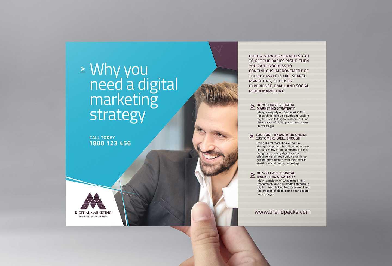 Digital Marketing Flyer Template In Psd, Ai & Vector In Digital Flyer Templates
