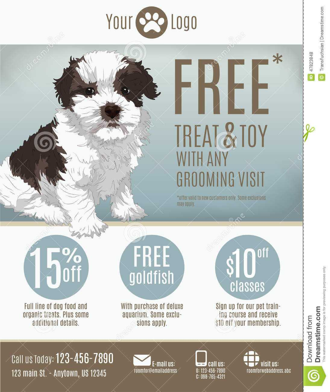 Dog Sale Flyer Template - Tunu.redmini.co Inside Dog Walking Flyer Template