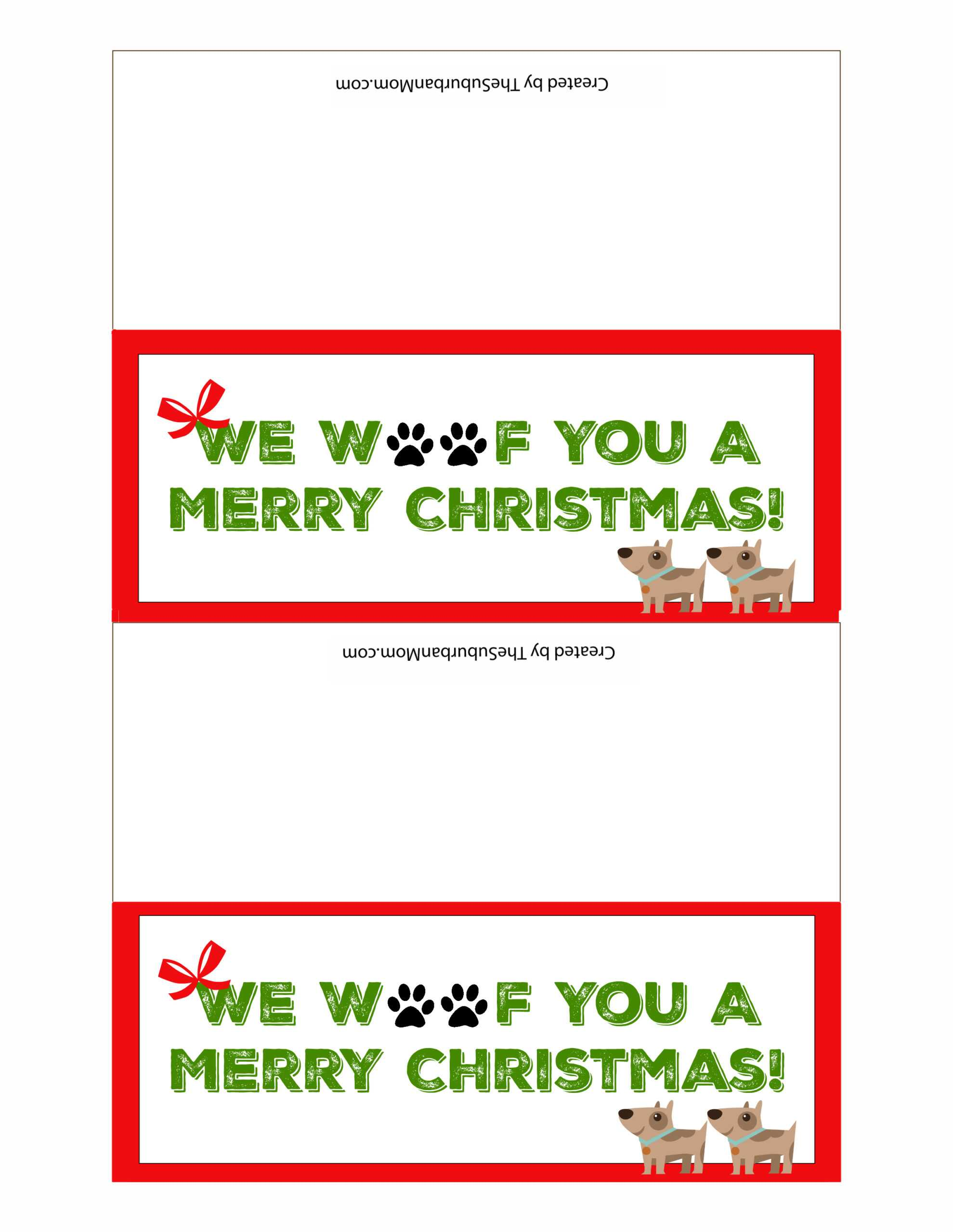 Dog Treat Christmas Gifts For Dogs ~ Free Printable Inside Dog Treat Label Template
