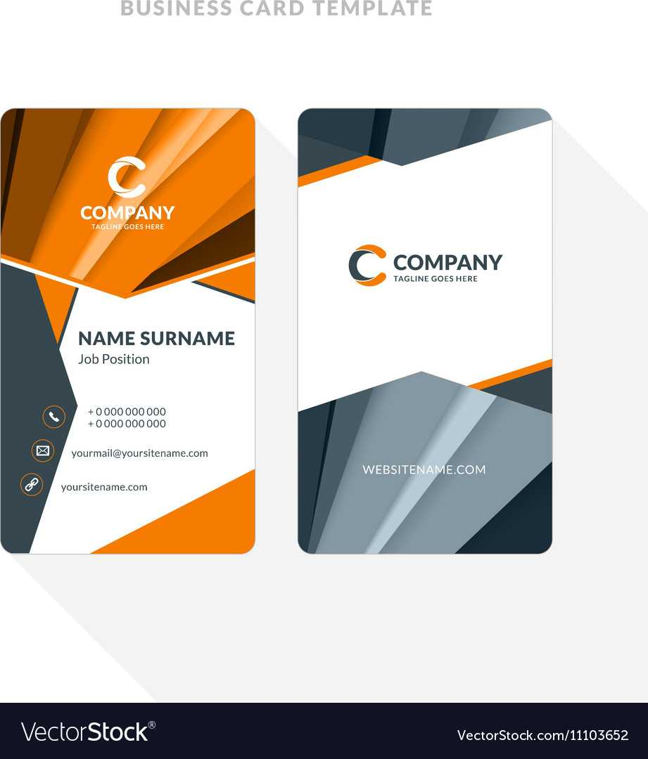 Double Sided Business Cards Templates - Colona.rsd7 Inside Double Sided Business Card Template Illustrator
