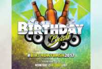 Download] Birthday Flyer Free Psd   Psddaddy throughout Free Birthday Flyer Templates
