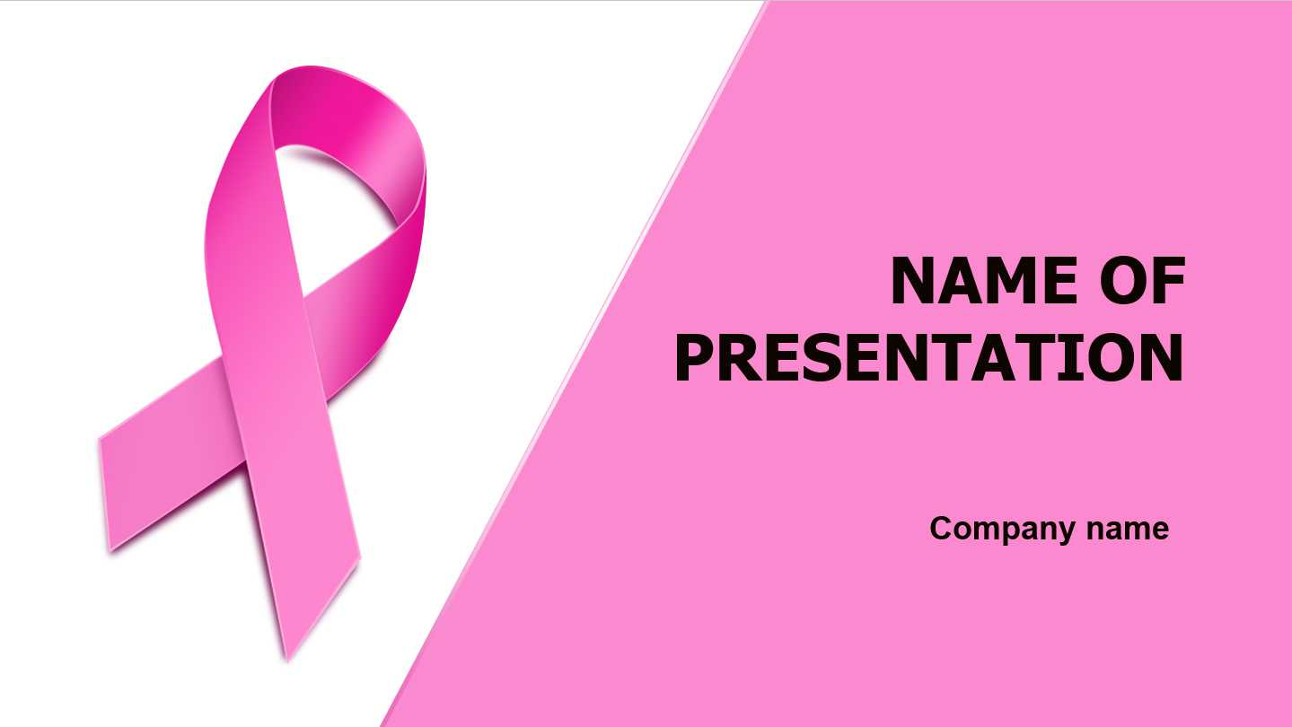 Download Free Breast Cancer Powerpoint Template And Theme In Free Breast Cancer Powerpoint Templates