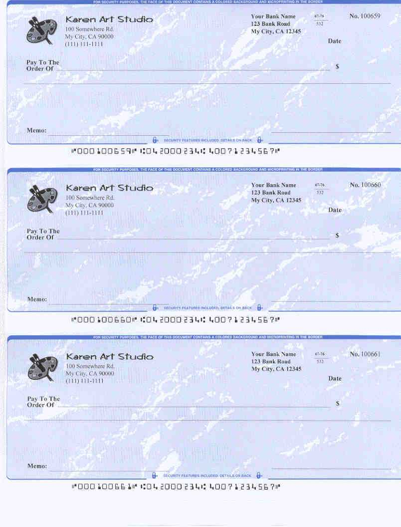 Easy To Use Check Writing And Printing Software For All Pertaining To Customizable Blank Check Template