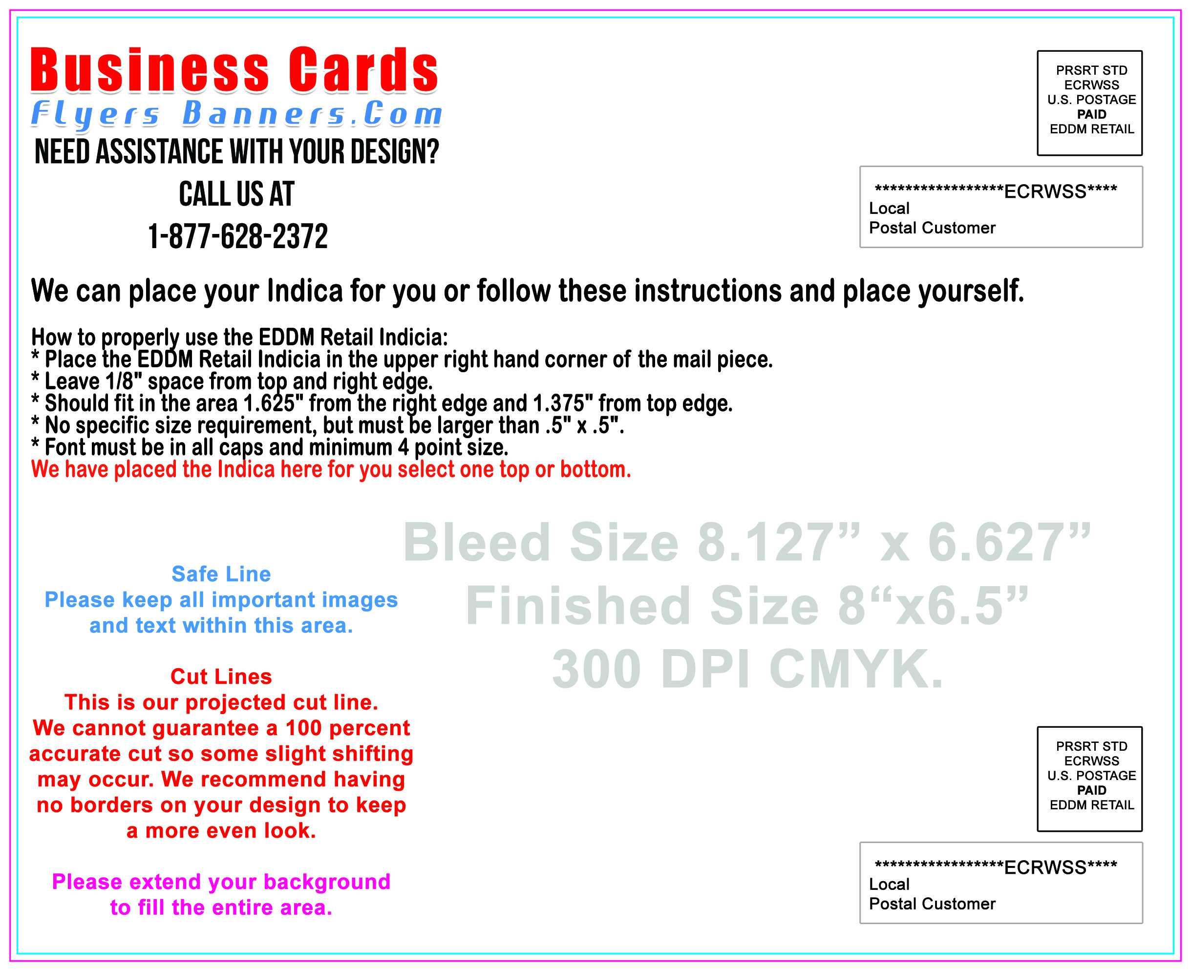 Eddm Postcard Templates - Eddmdiscounts Pertaining To Every Door Direct Mail Template