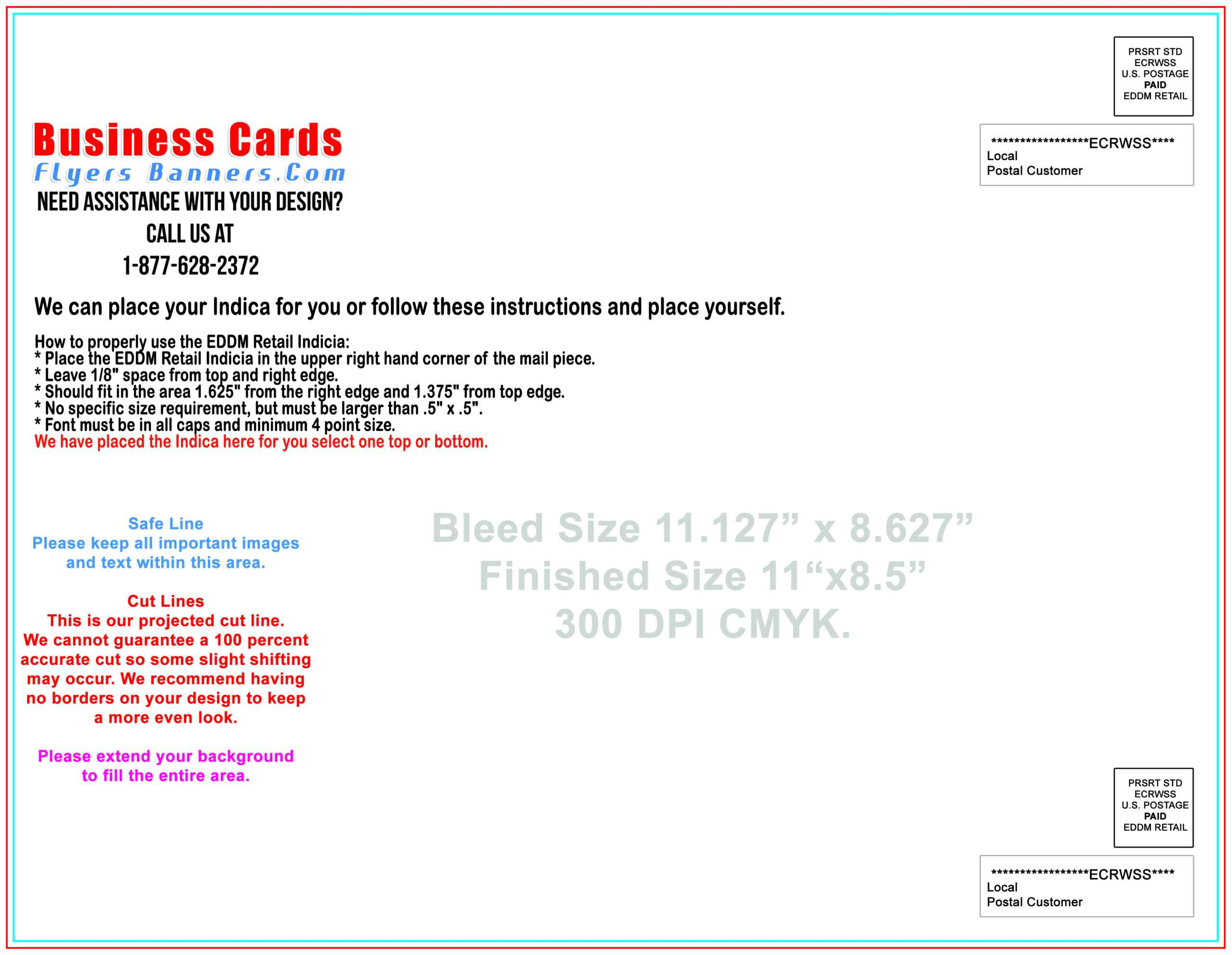 Eddm Postcard Templates - Free Shipping And Low Prices Pertaining To Eddm Postcard Template