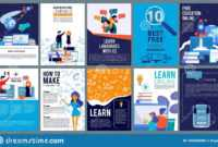 Education Online Covers. Posters Or Ads Flyer Template With intended for Free Education Flyer Templates