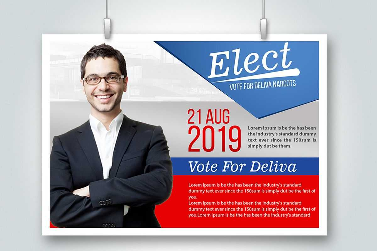 Election Voting Flyer Template Within Election Templates Flyers