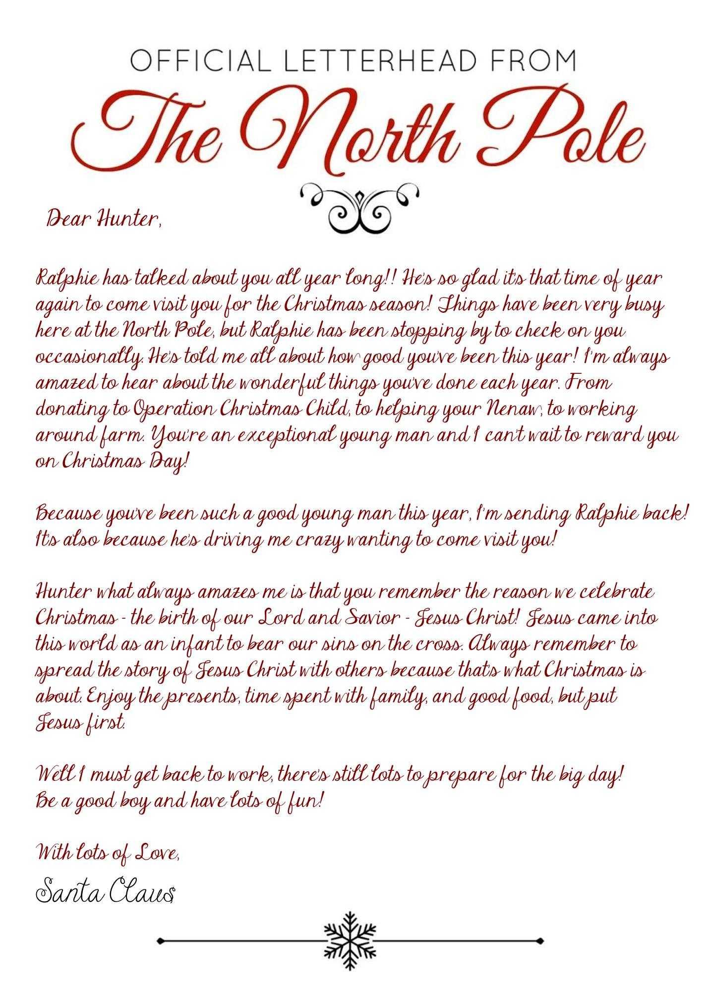 Elf On The Shelf Arrival Letter - Jesus Version - 2017 Throughout Elf On The Shelf Arrival Letter Template