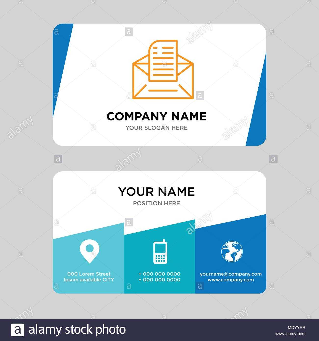 Email Business Card Design Template, Visiting For Your For Email Business Card Templates
