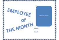 Employee Of The Month Certificate Template | Templates At regarding Employee Of The Month Certificate Template
