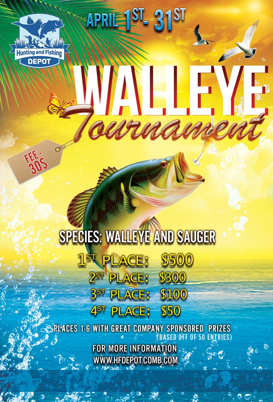 Entry #5Margaritafree For Design Two Fishing Tournament Regarding Fishing Tournament Flyer Template