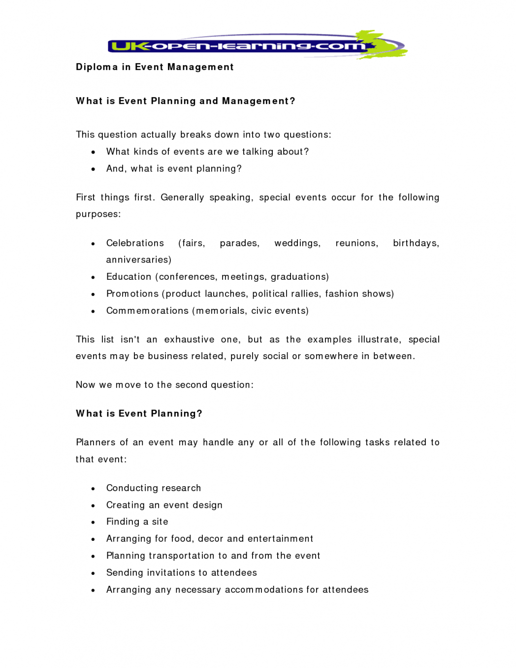 Event Management Plan Pdf Plans Marketing Siness In India Inside Events Company Business Plan Template