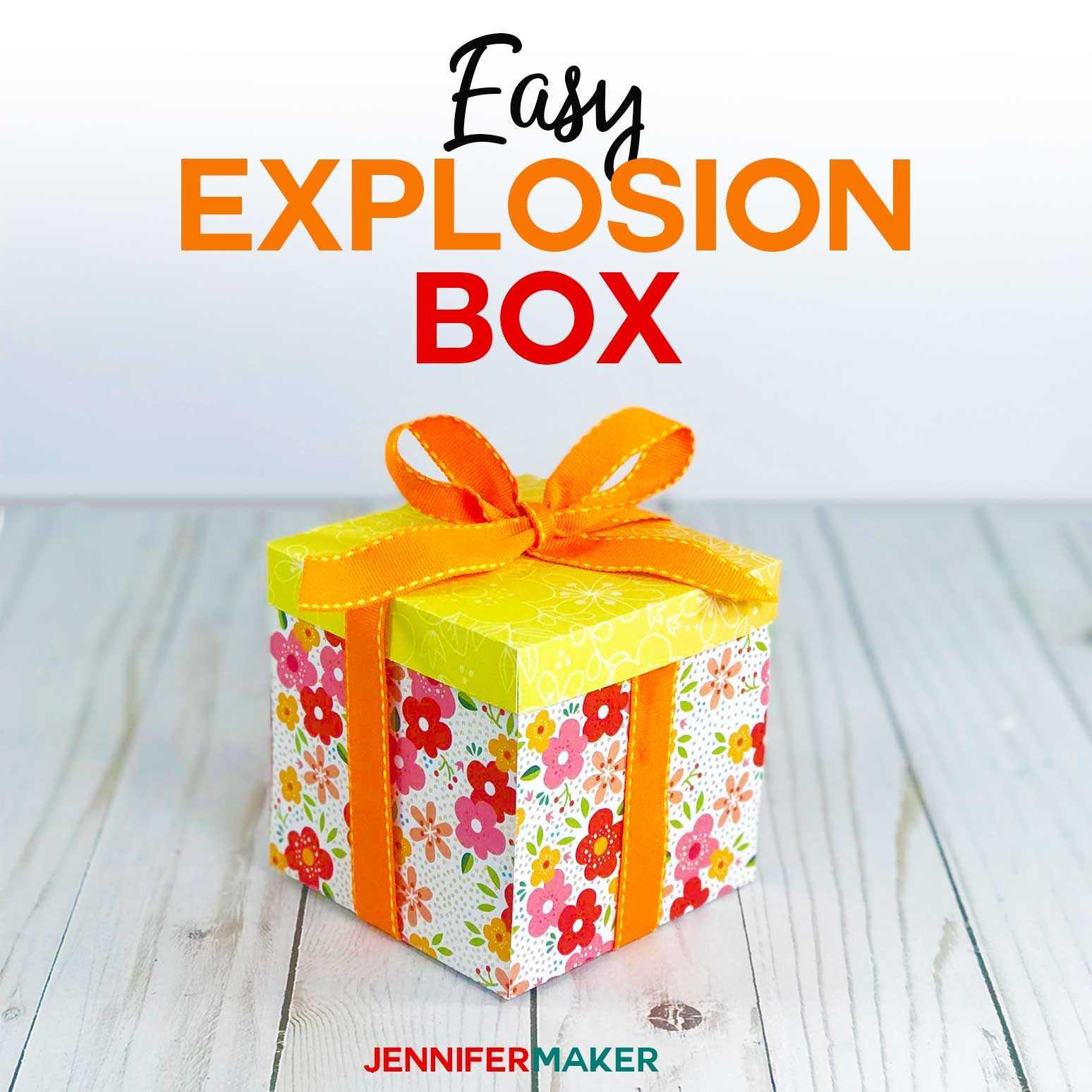 Explosion Box Card Tutorial: Endless Box - Free Svg File Regarding Free Svg Card Templates