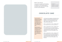 Eye-Catching And Editable Recipe Template For Word – Used To throughout Full Page Recipe Template For Word