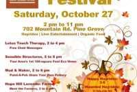 Fall Festival Flyer Templates Free ] – Fall Festival Flyer pertaining to Fall Festival Flyer Templates Free
