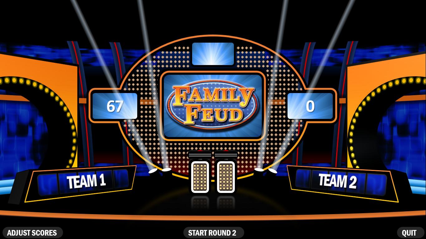Family Feud | Rusnak Creative Free Powerpoint Games Inside Family Feud Powerpoint Template With Sound