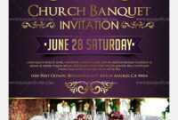 Fascinating Church Invitation Cards Templates Template Ideas inside Church Invite Cards Template