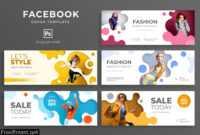 Fashion Promo Facebook Cover Template Pj9X4A6 regarding Facebook Banner Template Psd