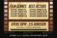 Film Festival Graphics, Designs & Templates From Graphicriver pertaining to Film Festival Brochure Template