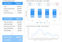 Financial Dashboards – See The Best Examples & Templates regarding Financial Reporting Dashboard Template