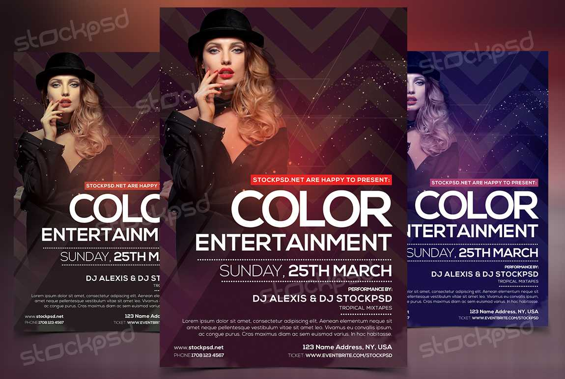 Flyer Templates Archives – Stockpsd – Free Psd Flyers Regarding Fashion Flyers Templates For Free
