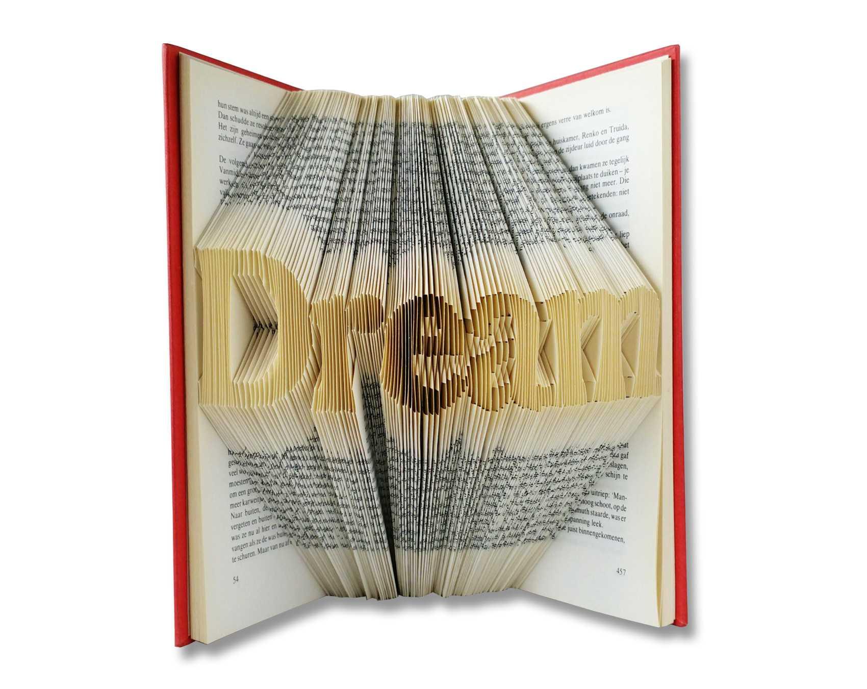 Folded Book Art Pattern – Dream Regarding Folded Book Art Templates