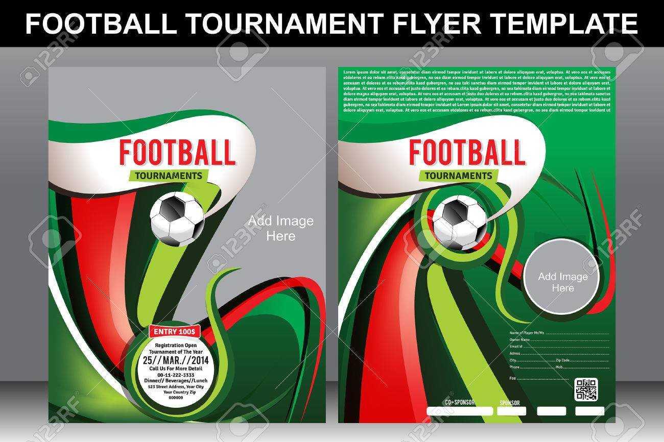Football Tournament Flyer Template Illustration Inside Football Tournament Flyer Template