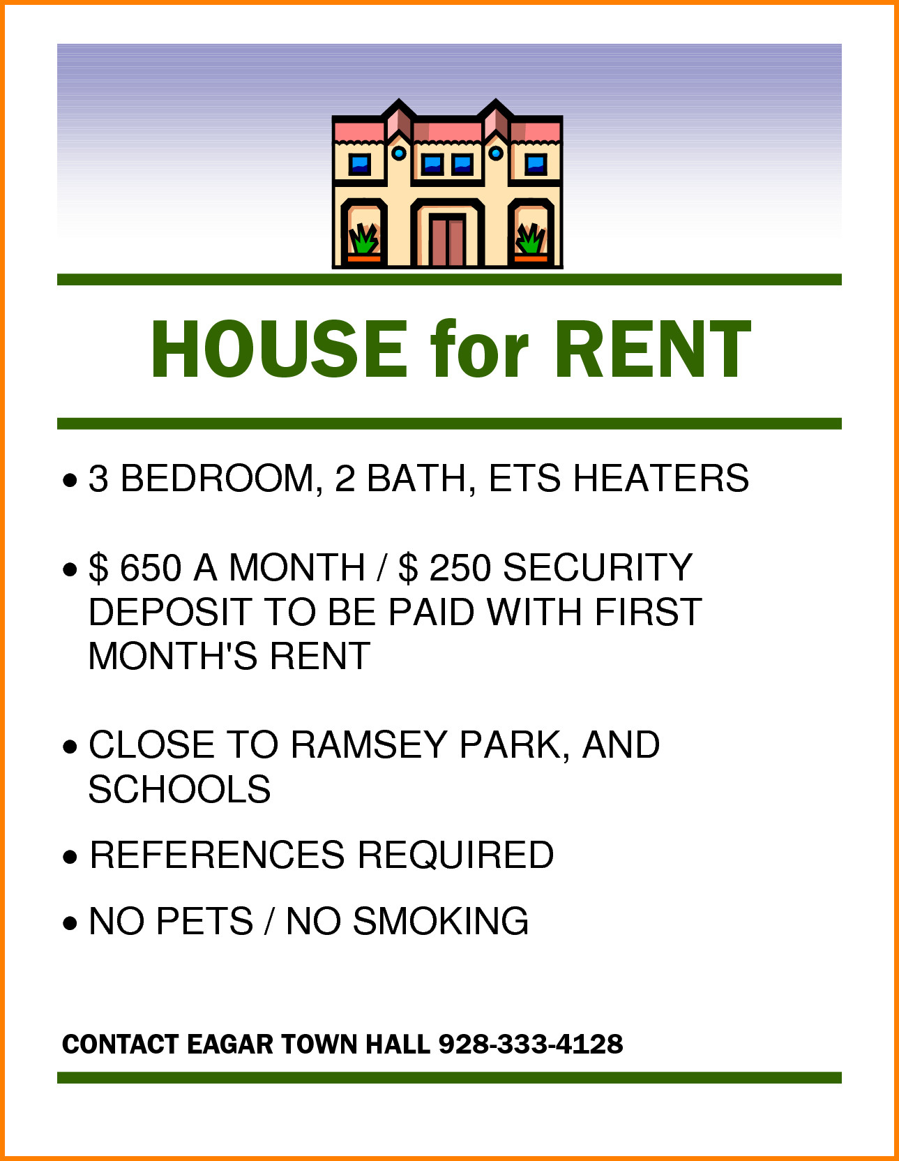 For Rent Flyer Template Awesome Home Rental Flyer Red For For Rent Flyer Template Word