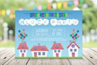 Free 21+ Summer Party Invitation Designs & Examples In for Free Block Party Flyer Template