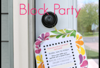 Free Block Party Cliparts, Download Free Clip Art, Free Clip with Free Block Party Flyer Template