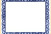 Free Certificate Border Clipart regarding Free Printable Certificate Border Templates