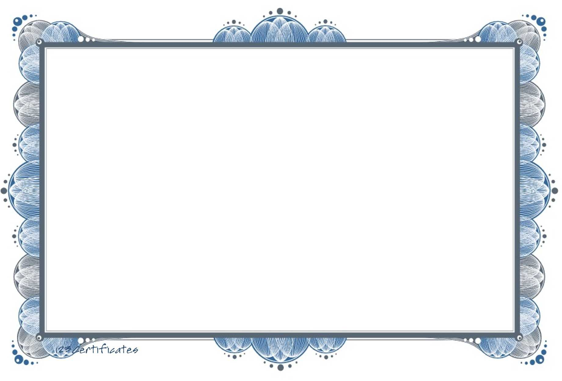 Free Certificate Border, Download Free Clip Art, Free Clip Regarding Free Printable Certificate Border Templates