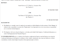 Free Confidentiality Agreement – Create, Download, And Print inside Free Confidentiality Agreement Template Download