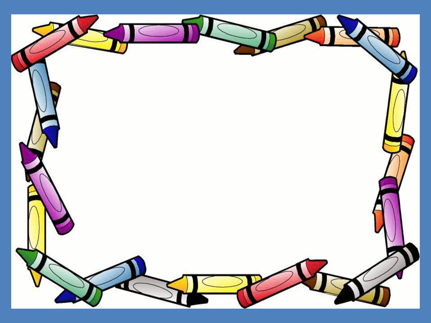 Free Crayon Template, Download Free Clip Art, Free Clip Art In Crayon Labels Template