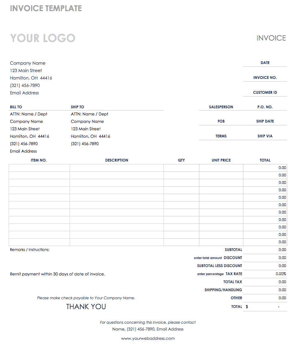 Free Credit And Debit Note Templates | Smartsheet Intended For Credit Note Example Template
