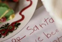Free Letter To Santa Template Printables For Christmas with Dear Santa Template Kindergarten Letter