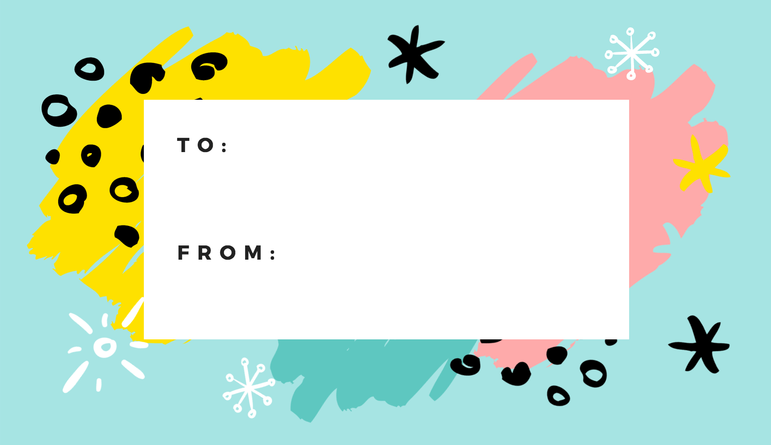 Free Online Gift Tags Maker: Design A Custom Gift Tag – Canva Intended For Free Gift Tag Templates For Word