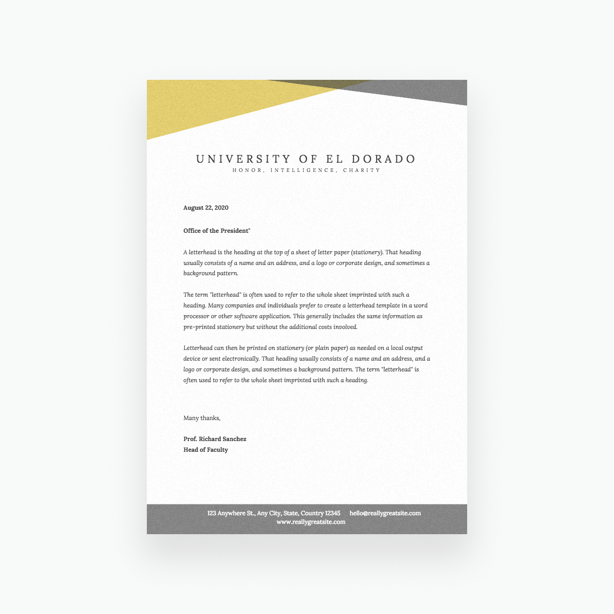 Free Online Letterhead Maker With Stunning Designs - Canva Regarding Fancy Letterhead Templates